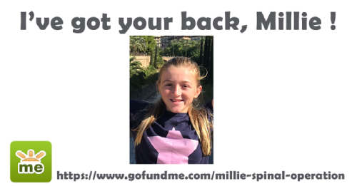 Mediaelx joins the cause 'We've got your back, Millie' by donating a web page